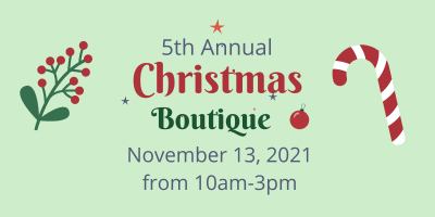 Christmas Boutique (4 x 2 in)